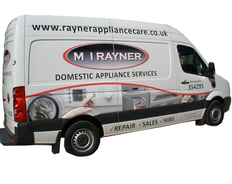 Rayner Appliance Van